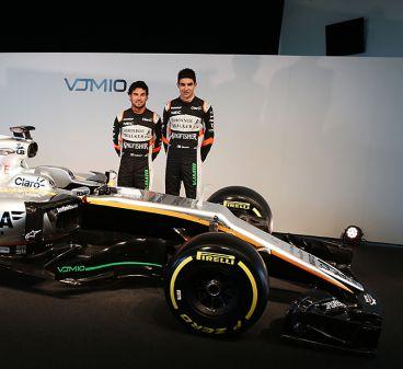 Force India presenta en Silverstone su nuevo VJM10 - SoyMotor.com