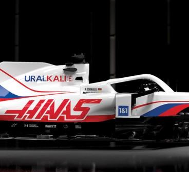 Haas presenta su VF-21: Rusia pinta el único F1 estadounidense - SoyMotor.com