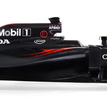 McLaren presenta el MP4-31, el coche de Alonso y Button para 2016