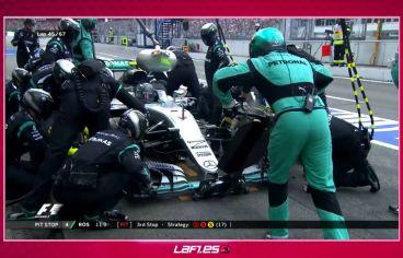 Rosberg perdió más tiempo del debido en boxes - LaF1