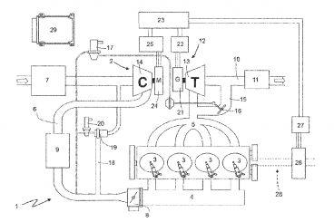 Ferrari patenta un motor de cuatro cilindros con compresor eléctrico - SoyMotor.com