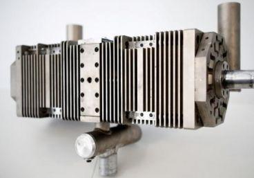 Motor-generador eléctrico sin válvulas ni cigüeñal Aquarius
