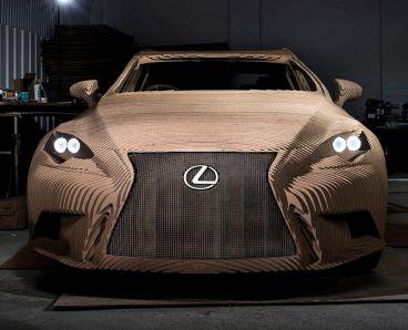Cada detalle de este Lexus IS queda reflejado en esta perfecta recreación a escala real - SoyMotor