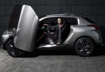 El Peugeot 1008 se basará en el 208 y no en el HR1 Concept que protagoniza la iamgen - Soymotor