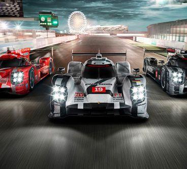 Así celebra Porsche su triunfo en las 24 horas de Le Mans