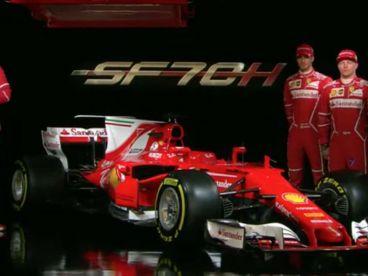 Ferrari presenta su nuevo monoplaza, el SF70-H - SoyMotor