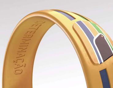 Pulsera que llevarán los atletas olímpicos brasileños - LaF1