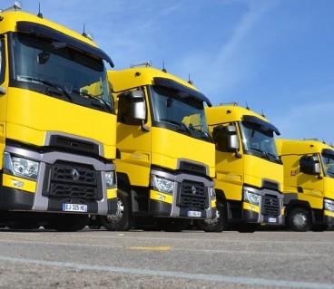 Camiones de Renault en el Circuit de Barcelona-Catalunya, hoy - SoyMotor