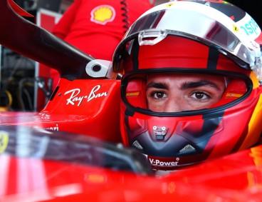 VÍDEO: Sainz muestra el 'backstage' de su debut con Ferrari - SoyMotor.com