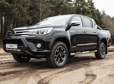 La imponente pose del Toyota Hilux no cambia en esta edición especial - SoyMotor