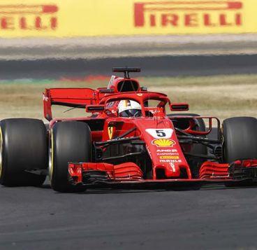 Valtteri Bottas y Sebastian Vettel - SoyMotor.com