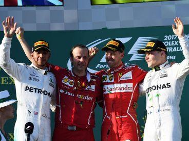Imagen del podio en Australia - SoyMotor