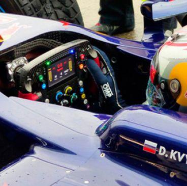 Llega la pantalla LCD al volante de la Fórmula 1