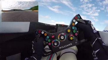 ¡Da una vuelta al circuito de Jerez desde el cockpit de Williams!