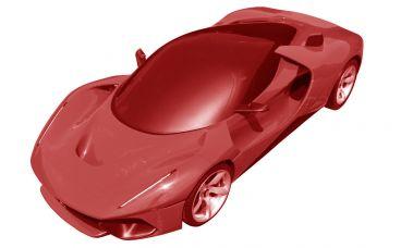 ¿Será ésta la patente del Ferrari F80?