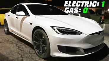 VÍDEO: Así humilla un Tesla Model S P100D a varios 'muscle car'