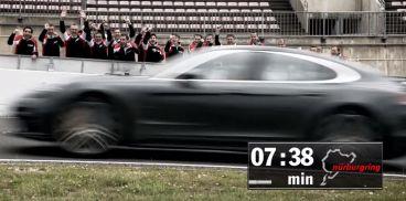 RÉCORD: El Panamera bate al Giulia en Nürburgring