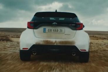 VÍDEO: Latvala, a fondo con el Toyota GR Yaris sobre tierra