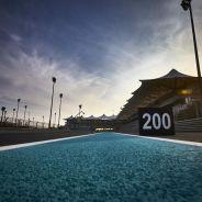El circuito de Yas Marina combina largas rectas con curvas lentas - LaF1