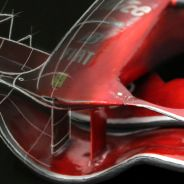 Dibujo del alerón del Ferrari F2008 - LaF1