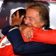 Muchos interpretaron el abrazo de Montezemolo y Alonso como una despedida - LaF1
