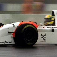 Ayrton Senna al volante del McLaren-Ford MP4-8 Ford - LaF1