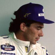 Ayrton Senna, pensativo en el Gran Premio de Brasil de 1994 - LaF1