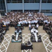 Mercedes es uno de los pilares con sus cuatro equipos, en 2016, cambia Lotus por Manor - LaF1