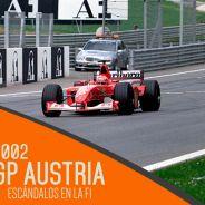 Michael Schumacher y Rubens Barrichello en el GP de Austria 2002 - LAF1.es