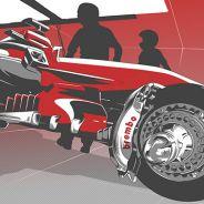 TÉCNICA: El funcionamiento de los frenos en Monza
