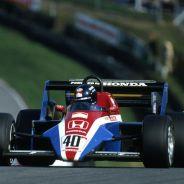 Stefan Johnansson con el Spirit en 1983 - LaF1