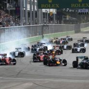 Bakú debutó con nota en la Fórmula 1 - LaF1