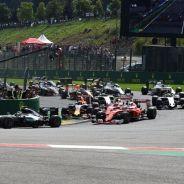 Salida del Gran Premio de Bélgica - LaF1