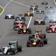 Salida del GP de Japón F1 2016 - LaF1