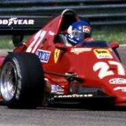 Patrick Tambay gana el GP de San Marino 1983 con el Ferrari 126