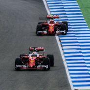 Vettel y Raikkonen en Hockenheim - LaF1
