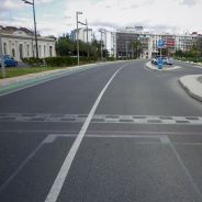 Vista de la recta de meta del Valencia Street Circuit - LaF1