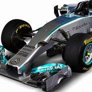 Todas las fotos del Mercedes W05 - Presentación