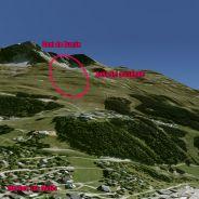 Zona donde Michael Schumacher se accidentó practicando esquí - LaF1