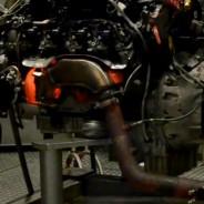 Motor AMG V8 5.5 biturbo al rojo vivo - SoyMotor