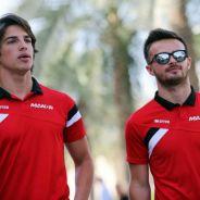 Will Stevens y Roberto Merhi en Sakhir - LaF1.es