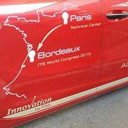 La ruta seguida por el coche autónomo del Grupo PSA en la puerta trasera - SoyMotor