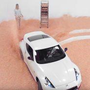 El Nissan 370Z decora donuts como le da un poco la gana - SoyMotor