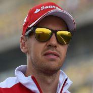 Primer plano de Sebastian Vettel - LaF1