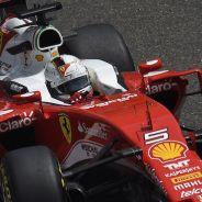 Sebastian Vettel en el Circuito Internacional de Shanghái - LaF1