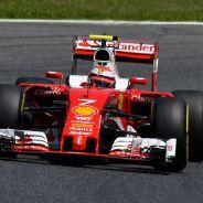 Räikkönen en la carrera del GP de España - LaF1