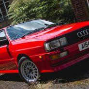 Audi Quattro 1984 propiedad de Nigel Mansell