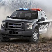 Con este Ford F-150, el brazo 'musculado' de la ley está más musculado que nunca - SoyMotor