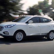 La foto corresponde al Hyundai Tucson Fuel Cell, el SUV de hidrógeno de referencia para la marca - SoyMotor