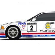 Representación del BMW E36 M3 GTR de 1996 - SoyMotor